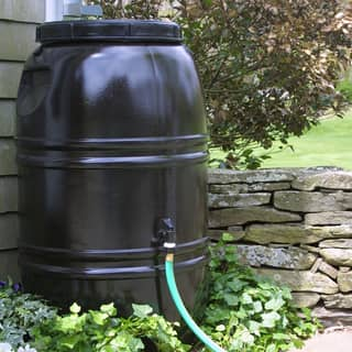 Great American Rain Barrel Earth Brown