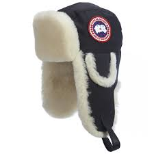 Canada Goose Men's Shearling Pilot Hat