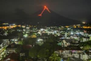 Mt Mayon Volcano