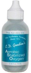E.D. Goodloe's Aerobic Stabilized Oxygen