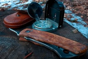 Good Navigation Tools - Compass and Knife