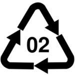 Plastic #2 Symbol