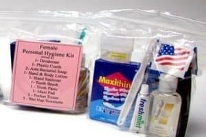 Personal Feminine Hygiene Kit