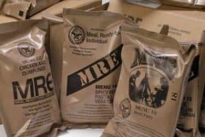 MREs Food Storage
