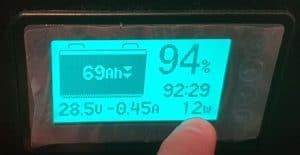 Titan Solar Generator Display