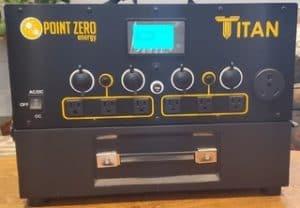 Titan Solar Generator Front