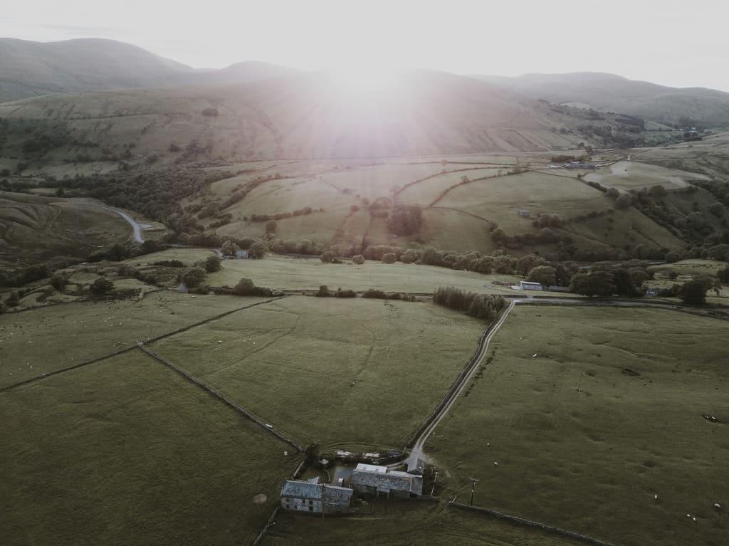 Farmhouse Arial