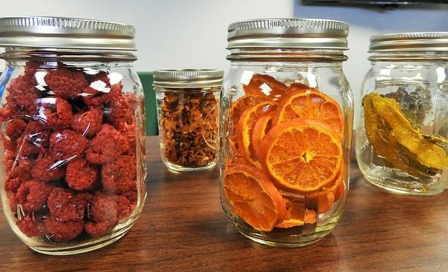Freeze Dried Canned Fruits