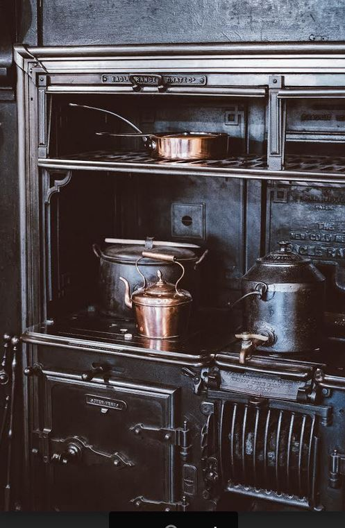 Old Fashioned Cook Wood Stove